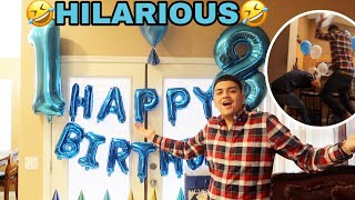 How I Spent My 18th Birthday!! *HILARIOUS*