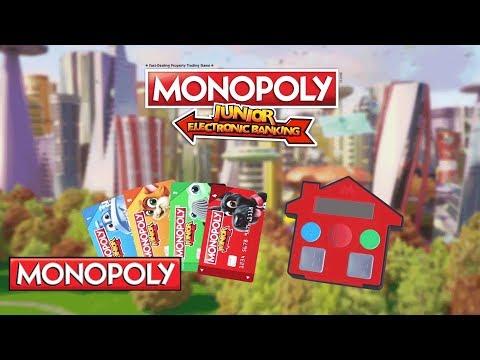 'Monopoly Junior Electronic Banking' - Hasbro Gaming India