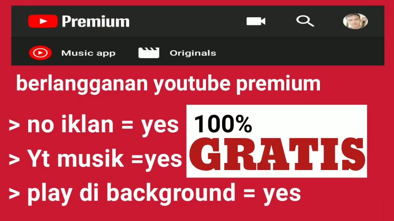 "Cara Daftar Youtube Premium Gratis Youtube Premium À¸"" À¸à¸"" À¸¡à¸²à¸ How To Get Youtube Premium Android Youtube"