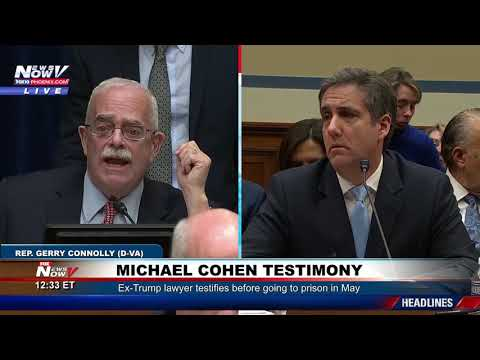 PART 2: Michael Cohen Testimony Taking On President Trump
