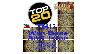 TOP20 TH12 WARBASE, LEGIT ANTI 3STAR, 2018