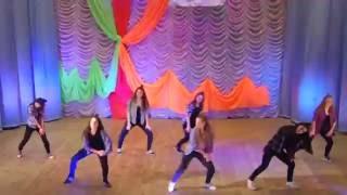 Современный да утесистый танец