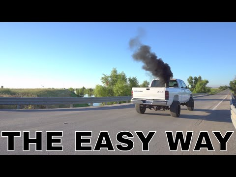 HOW I GOT MY 24V CUMMINS TO ROLL COAL