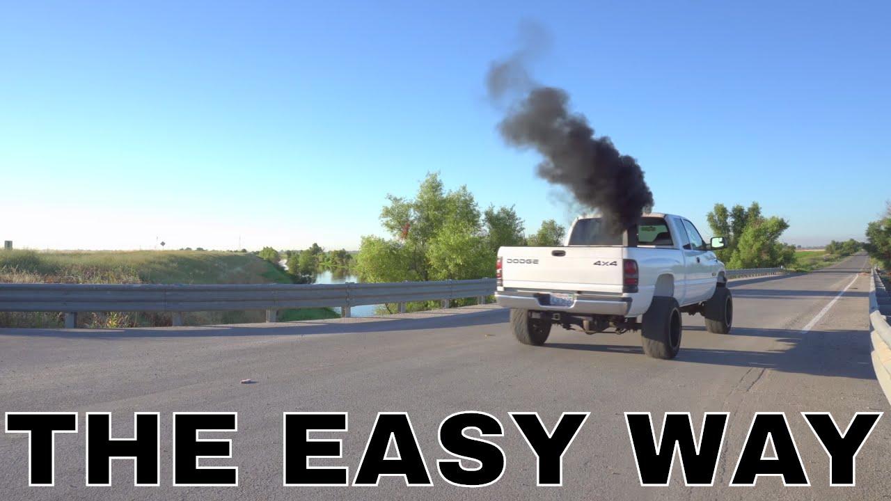 HOW I GOT MY 24V CUMMINS TO ROLL COAL