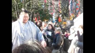 逸ノ城 幕内力士場所入り 大相撲平成28年初場所 2016/1/20 Sumo ichinoj...