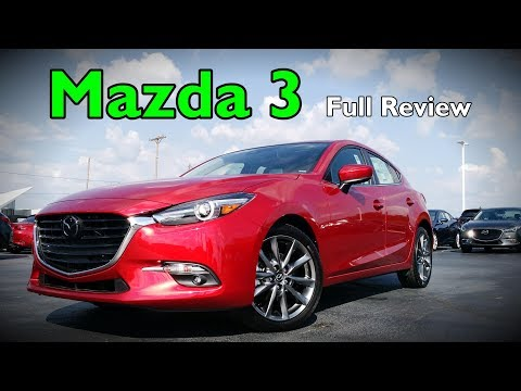 2018 Mazda 3 Hatchback: Full Review   Grand Touring, Touring & Sport