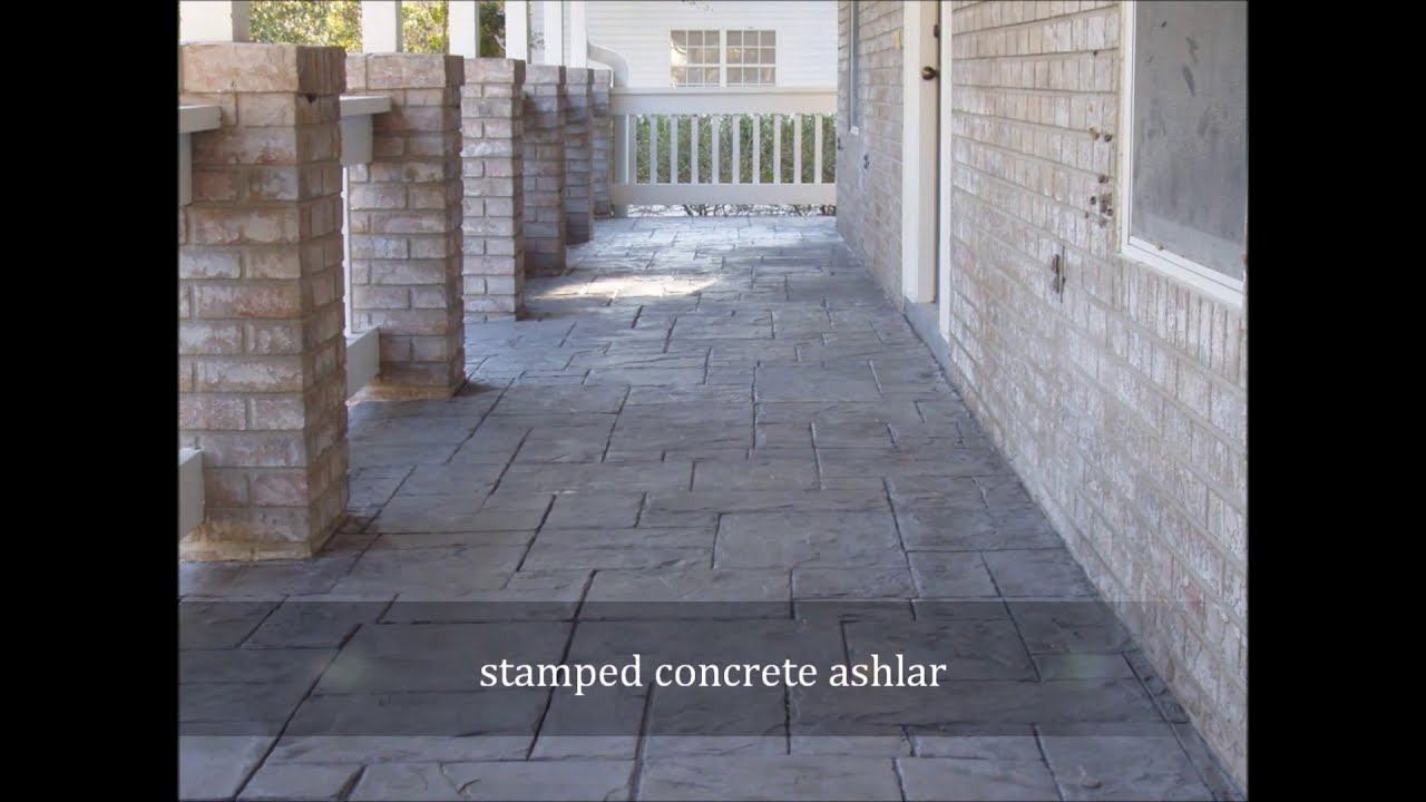 What Is The Difference Between Stamped Concrete And Stained Concrete home - stamped concrete sarasota