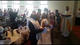 Baptism and wedding