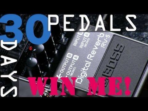 Boss Digital Reverb RV-5 Bitesize Review - 30 Days, 30 Pedals - WIN!