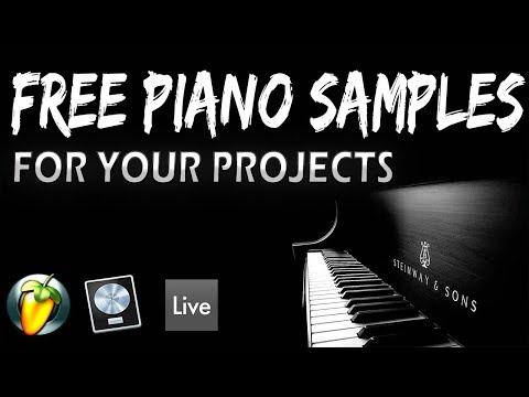 FREE PIANO LOOPS! For your music projects!