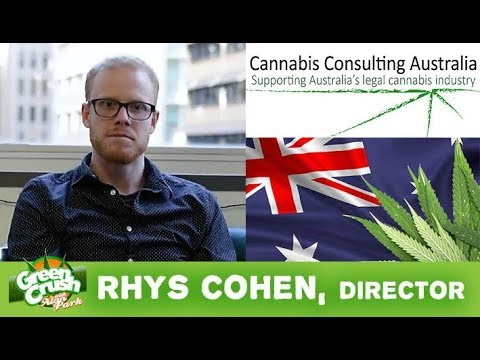 Green Crush with Alan Park - Rhys Cohen Interview - Director, Cannabis Consulting Australia