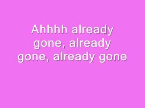 Kelly Clarkson - Already Gone (lyrics in video)