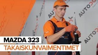 Video-ohjeet MAZDA 323