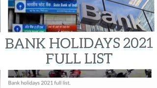 BANK HOLIDAYS IN KARNATAKA 2021: FULL LIST OF DAYS BANKS WILL REMAIN CLOSED