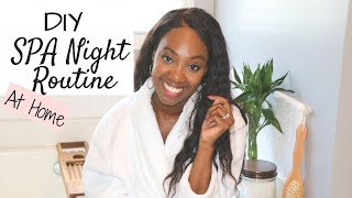SPA Night Routine | My Pamper Routine At Home |LUX Home Spa on a Budget
