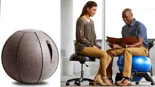 TOP 5 Best Ergonomic Yoga Ball Chair [ Desk Buyer's Guide ]