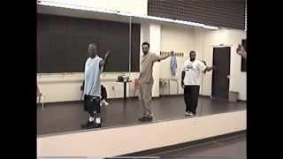 Black Ivory rehearses at Nola Studios NYC circa 2000