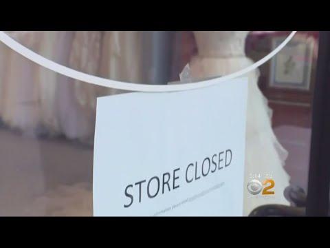 Bridal Shop Suddenly Closes Stores