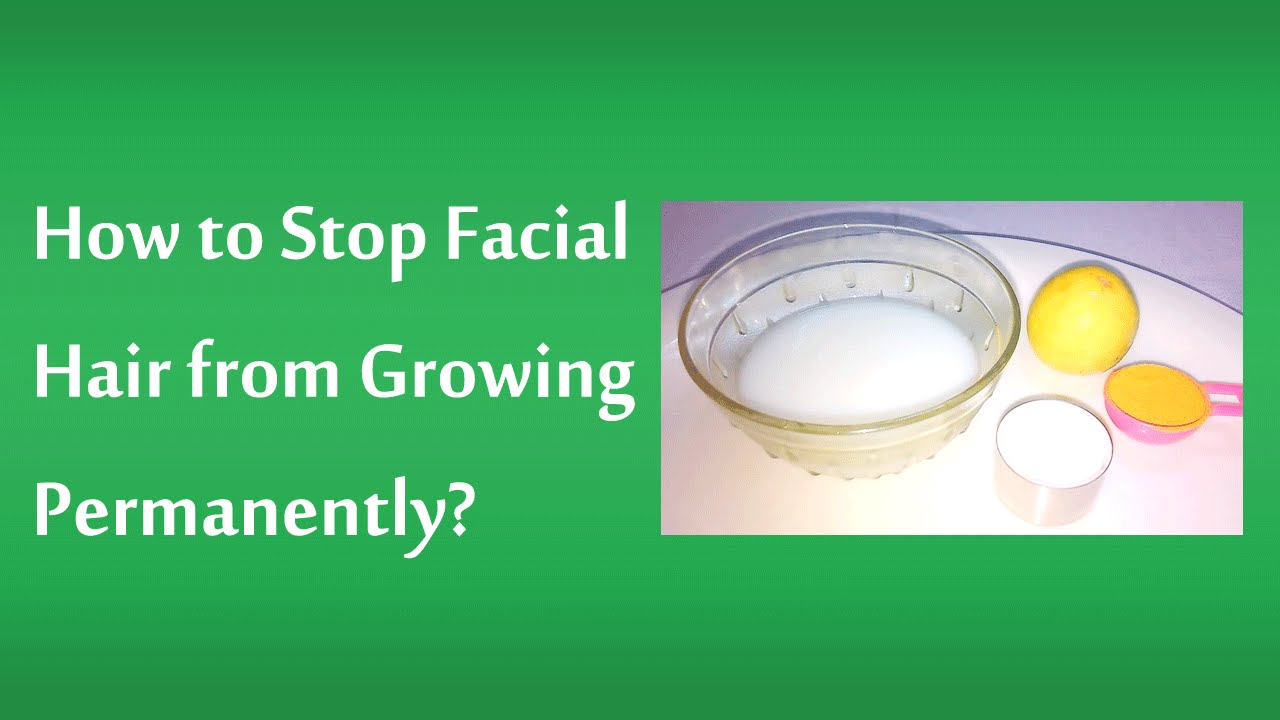 Face pack for unwanted hair-9047