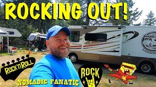 Summer Concert Festival, RV Remodel & Visiting The Tribe