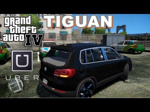 GTA 4 - Vida Real: UBER #21 |  VW Tiguan