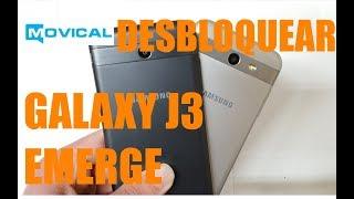 Desbloquear el Samsung Galaxy J3 Emerge con código desde Movical.Net