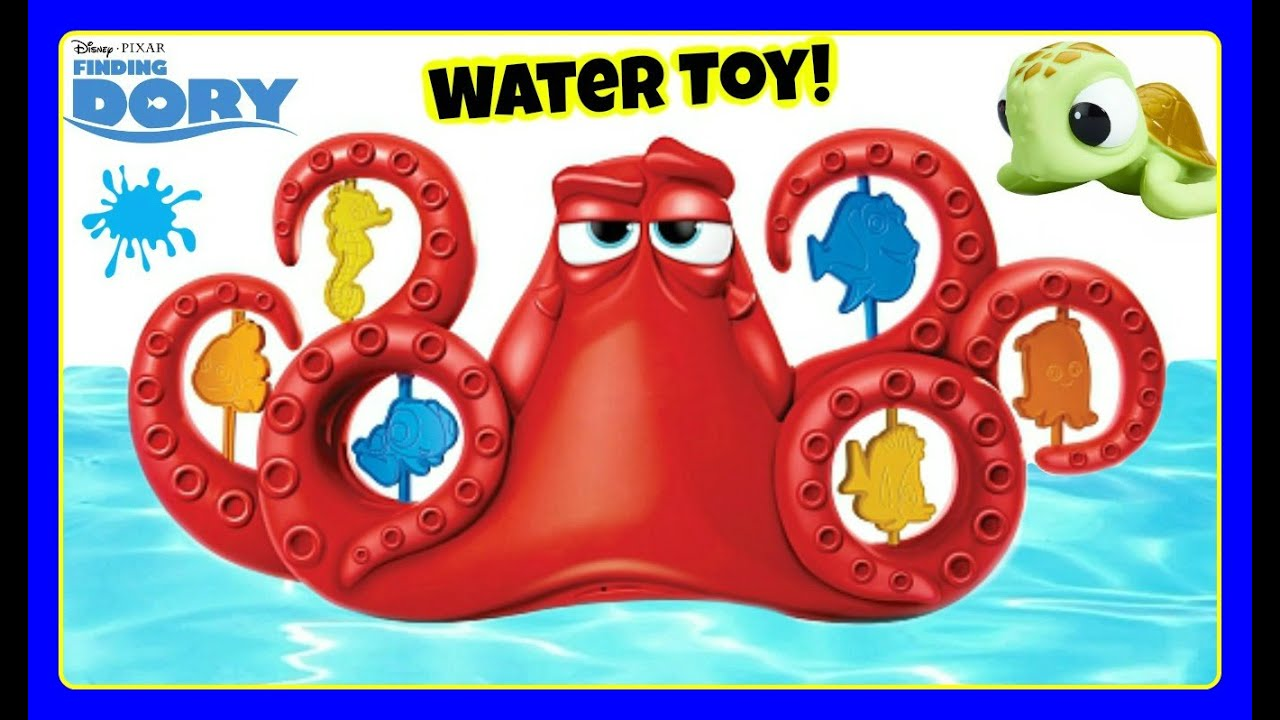 Finding Dory Nemo Surprise Squirt Hank Bath Playset New Bath Toy Disney Pixar