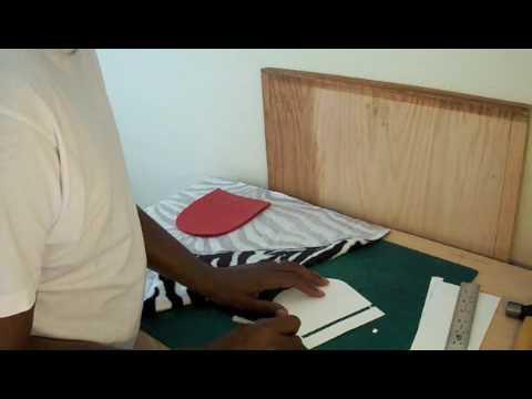 b5322fd5b58b4 How to make a designer handbag  Stays - YouTube