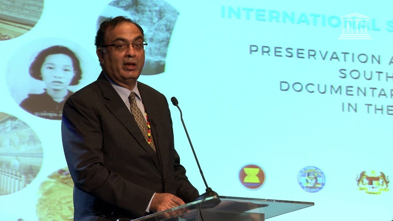 Shahbaz Khan: UNESCO Memory of the World Symposium Opening Remarks ...