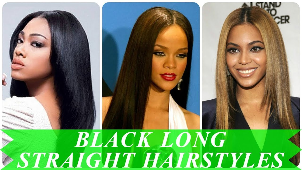 15 Top Beauty Long Straight Hairstyles For Black Women