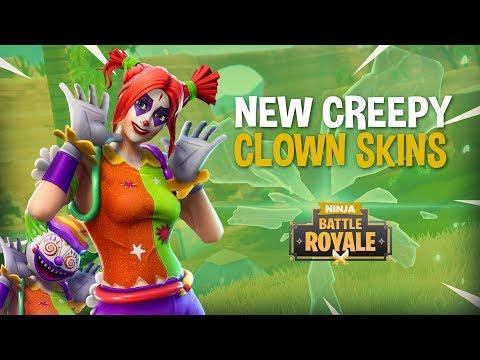 NEW Clown Skins!! 20 Frags!! - Fortnite Battle Royale Gameplay - Ninja