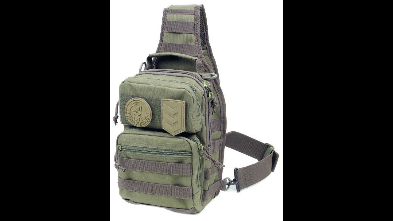 Sling EDC Bag Concealed Carry VVV Gear Posse - YouTube