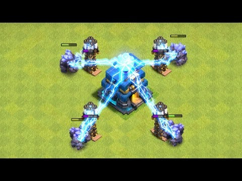 HOW DOES THE TH12 WORK!?! 'Clash of clans