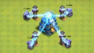 "HOW DOES THE TH12 WORK!?! 'Clash of clans"" New update"