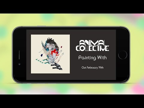 Animal Collective - Painting With - iOS App Demo