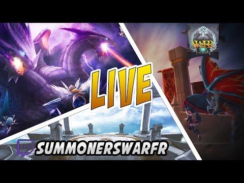 Summoners War - Live 12.1 - GVG Mad Tea Party/Requiem - ZairossHYPE