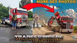 MORE Exciting Optimus & Bumblebee Set Photos! - [CYBERTRON NEWS]
