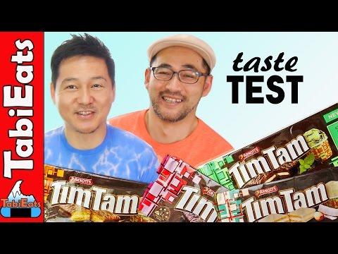 Unique TIM TAM Flavors (TASTE TEST)