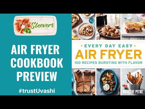 air-fryer-cookbook-preview-|-urvashi-pitre-air-fryer-cookbook