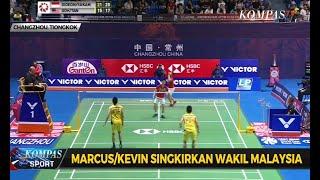BWF China Open 2019: Marcus/Kevin Singkirkan Wakil Malaysia