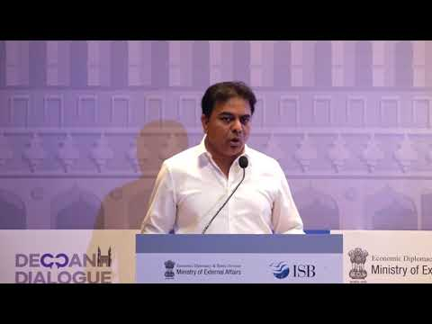 Shri K T Rama Rao, Hon'ble Minister for Industries & Commerce, IT&C, MA&UD, Government of Telangana