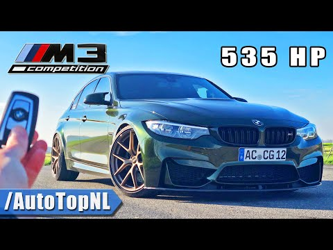 535HP BMW M3 F80 REVIEW on AUTOBAHN [NO SPEED LIMIT] by AutoTopNL