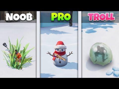 NOOB vs PRO vs TROLL