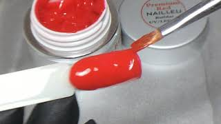 nail1.eu: Premium RED Builder Color UV/LED Gel