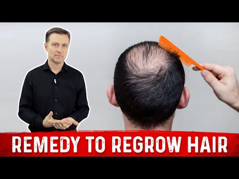 how-to-stop-hair-fall---best-remedy-to-regrow-hair-|-dr.berg