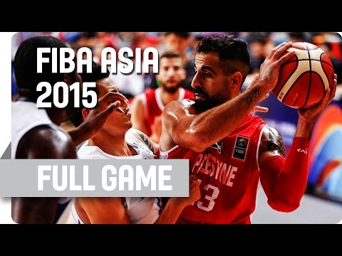 Philippines v Palestine - Group B - Full Game - 2015 FIBA Asia Championship