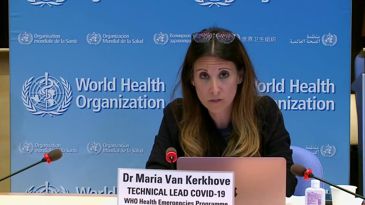 LIVE: WHO gives an update on the global coronavirus outbreak