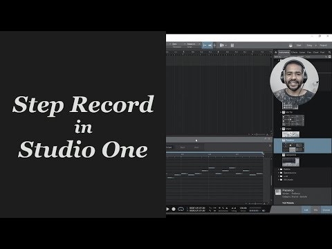 Step Record in Studio One