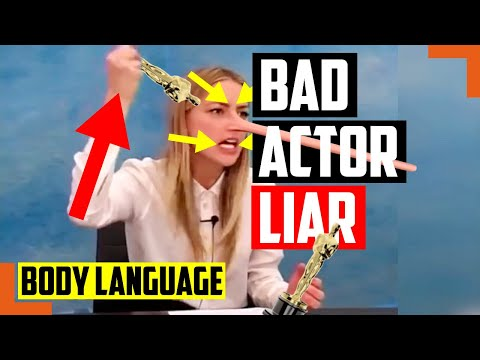 Does Body Language Prove Amber Heard Is The Worst Actor In The World Lying About Johnny Depp?