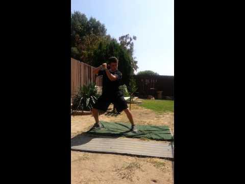Justin Lopez Baseball Swings